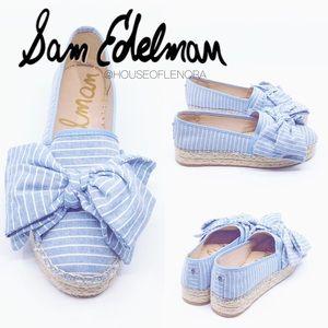 SAM EDELMAN CIARA Espadrilles Platform Slip-On